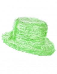 Grüner Plüsch-Hut für Erwachsene