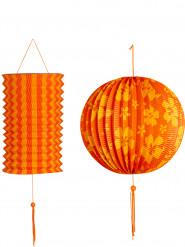 2 Lampions - orange