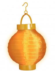 Leucht-Laterne - orange
