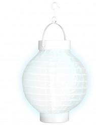 Laterne mit weißem Licht