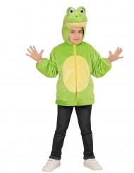 Entzückende Kapuzenjacke Frosch für Kinder