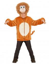 Jacke mit Kapuze als Affen-Kostüm für Kinder