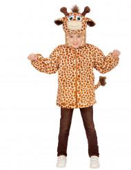 Giraffen-Kapuzenjacke für Kinder