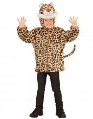 Kapuzenjacke im Leoparden-Look für Kinder
