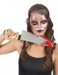 Transparente venezianische Maske für Erwachsene