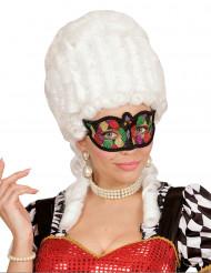 Bunte Glitzer Augenmaske für Erwachsene