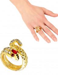 Schlangen Ring für Damen