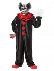Schrecklicher Clown Halloweenkostüm für Erwachsene