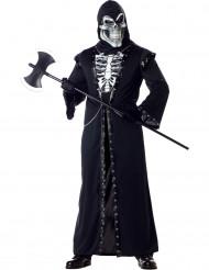 Verkleidung Halloween-Skelett für Erwachsene