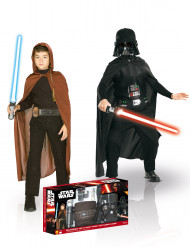 Jedi & Darth Vador Kostüm-Set für Kinder Star Wars™ Kostüm-Set