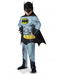 Batman™-Lizenzkostüm für Jungen Comicheld grau-schwarz