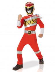 Power Rangers™ Dino Charge Kostüm für Kinder in rot
