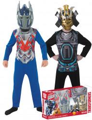 Klassische Kinder-Kostüme Transformers Optimus Prime und Drift in Geschenkpackung