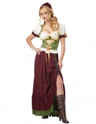 Renaissance-Magd Kostüm für Erwachsene