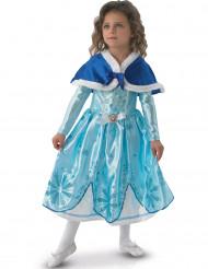Prinzessin Sofia™-Mädchenkostüm für Kinder Deluxe Winter türkis-weiss
