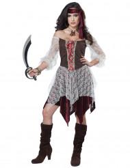 Sexy Bukanier-Piraten-Kostüm für Damen