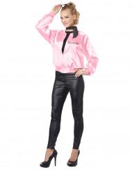 Rosa 50er-Jahre Kostüm für Damen