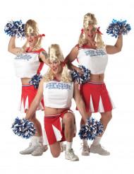 Cheerleader Kostüm für Erwachsene