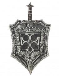 Kreuzritter Schild und Schwert