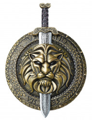 Schutzschild und Schwert für Gladiator