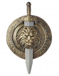 Gladiatoren-Schild und Schwert