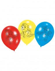 6 Luftballons aus Latex von Paw Patrol™