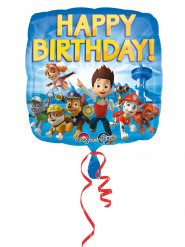 Folienballon Happy Birthday Paw Patrol™ 43 cm