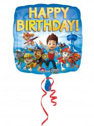 Folienballon Happy Birthday Paw Patrol™ 43 cm