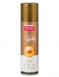 Goldenes Spray zum Dekorieren