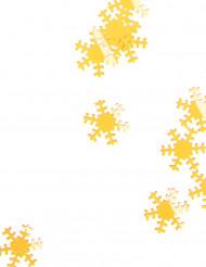 Goldenes Schneeflocken Konfetti