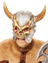 Wikinger Totenkopf Maske für Erwachsene Halloween