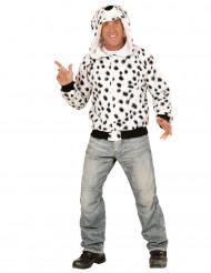Dalmatiner-Kapuzenjacke für Erwachsene
