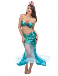 Sexy Meerjungfrau-Kostüm für Damen