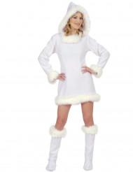 Sexy Eskimo-Kostüm für Damen