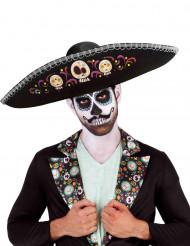 Dia de los Muertos Sombrero für Erwachsene