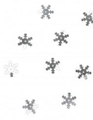 Silbernes Schneeflocken Konfetti 10g