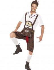 Bayerische Tracht als lustiges Kostüm für Männer