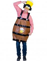 Bierfass-Kostüm für Erwachsene