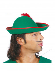 Hut im Tiroler Stil mit Feder für Erwachsene