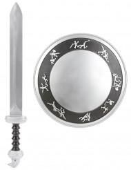 Schwert und Schild Gladiator-Set für Kinder