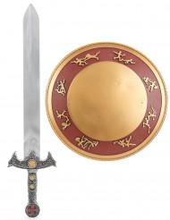 Gladiator Set für Kinder mit Schwert und Schild