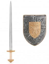 Ritter Set mit Schwert und Schild für Kinder