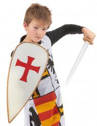Ritter-Kostüm mit Accessoires für Kinder bunt