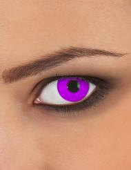 Violette Kontaktlinsen für Erwachsene