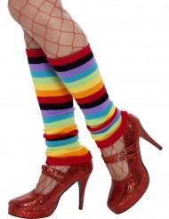 Regenbogen Beinstulpen für Erwachsene