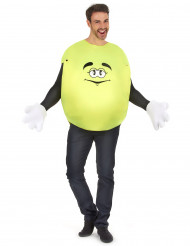Bonbon-Kostüm in Gelb für Erwachsene