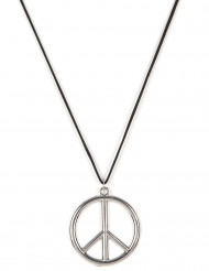 Hippie-Kette aus Metall für Erwachsene
