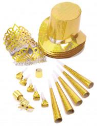 Goldenes Spaßartikel Parts-Set