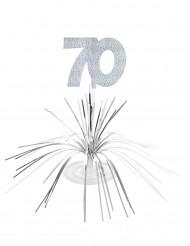 Tischaufsteller - Zahl 70