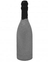 Konfetti-Kanone in Form einer Champagner-Flasche